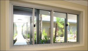 ALUMINIUM FRAME GLASS SLIDING WINDOW